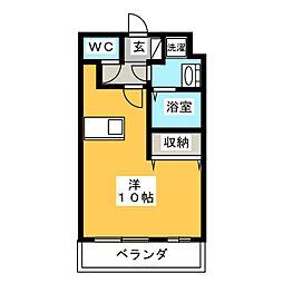 ステージア・M[103号室]の間取り