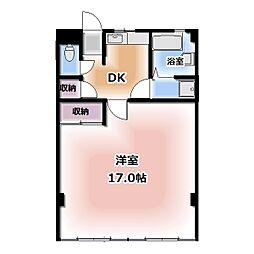 西春オカマンション[115号室]の間取り
