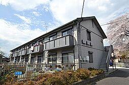 東京都あきる野市小川の賃貸アパートの外観