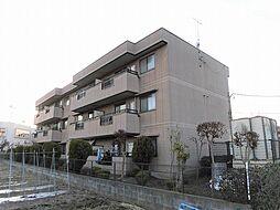 東京都昭島市美堀町2丁目の賃貸マンションの外観