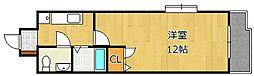 アヴィニール竪町[8階]の間取り