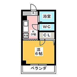 ASANOIIビル[4階]の間取り