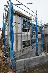 神奈川県横浜市神奈川区六角橋4丁目の賃貸アパートの外観