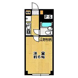 東京都世田谷区羽根木1丁目の賃貸マンションの間取り