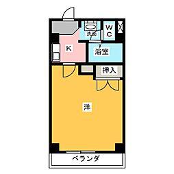 アルシェ浜松[3階]の間取り