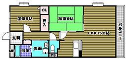 シンフォニーレジデンス藤沢台[1階]の間取り