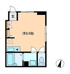 リヴィエレーヴ松戸[1階]の間取り