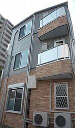 東京都葛飾区白鳥1丁目の賃貸アパートの外観