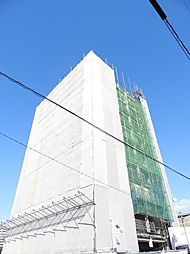 BLUE SQUARE HIBIKI IV(ブルースクエア響[10階]の外観