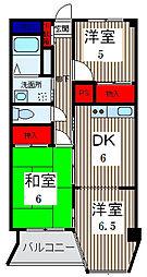 ニューグリーンマンション[4階]の間取り