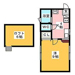 Maison RATIS[2階]の間取り