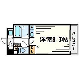 プライムコート武庫之荘[5階]の間取り