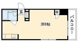 リッチライフ甲子園I[304号室]の間取り
