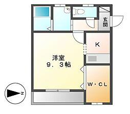 アズーリ[2階]の間取り