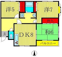 伊勢屋マンション[2階]の間取り
