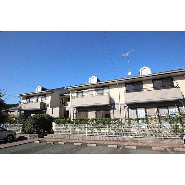 愛知県額田郡幸田町大字深溝の賃貸アパートの外観