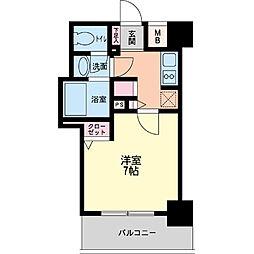 パシフィックレジデンス神戸八幡通[0703号室]の間取り