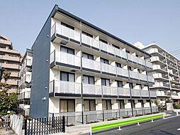 東京都大田区東糀谷4丁目の賃貸マンションの外観