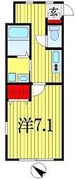 ビチクレッタ法典[1階]の間取り