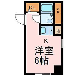 ホシオウビル[4階]の間取り