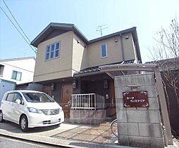 京都府京都市北区紫竹西南町の賃貸アパートの外観
