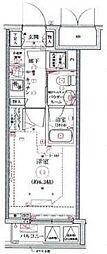 リヴシティ横濱関内[7階]の間取り