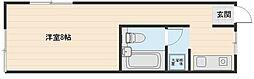 サンピアハイツ6[1階]の間取り