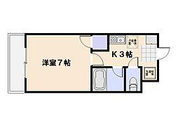 シンフォニー24[3階]の間取り
