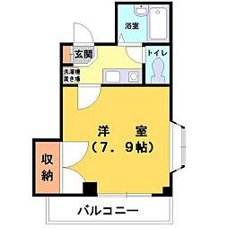 サンブライトマンション[302号室]の間取り