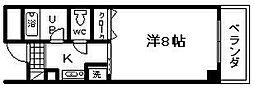 マ・メゾン21[407号室]の間取り