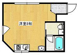 青木ビル[4階]の間取り