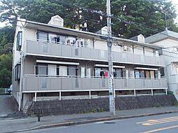 神奈川県川崎市多摩区栗谷4丁目の賃貸アパートの外観