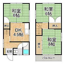 堺市中区土塔町2157-15貸家