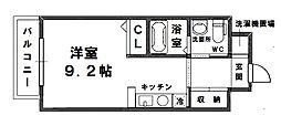 セレブコート木川[3階]の間取り