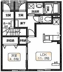 マッティーノS[1階]の間取り