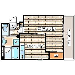 兵庫県神戸市長田区久保町4丁目の賃貸マンションの間取り