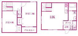 仮称)宿河原6丁目計画[1階]の間取り