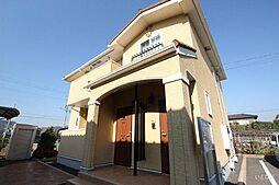 広島県福山市加茂町字中野3丁目の賃貸アパートの外観