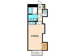 サンパティーク B棟[2階]の間取り