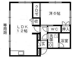 FIGARO[1階]の間取り