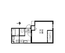 ノーチェ妙典[2階]の間取り