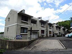 京都府京都市伏見区桃山町安芸山の賃貸アパートの外観