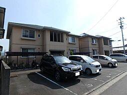 愛媛県松山市西石井6丁目の賃貸アパートの外観