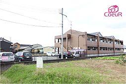 奈良県橿原市新口町の賃貸アパートの外観