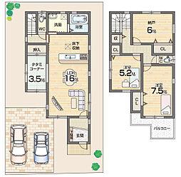 京田辺市 新築一戸建 第4薪長尾谷 4号地