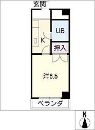 U・TOPIA21[2階]の間取り