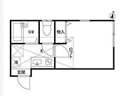 プロハイム洋光台[2階]の間取り