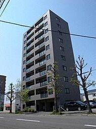北海道札幌市中央区北九条西19丁目の賃貸マンションの外観