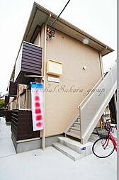 神奈川県茅ヶ崎市十間坂2丁目の賃貸アパートの外観