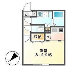 Branche覚王山(ブランシェ)[2階]の間取り